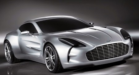 Most expensive car in the world Aston Martin One-77