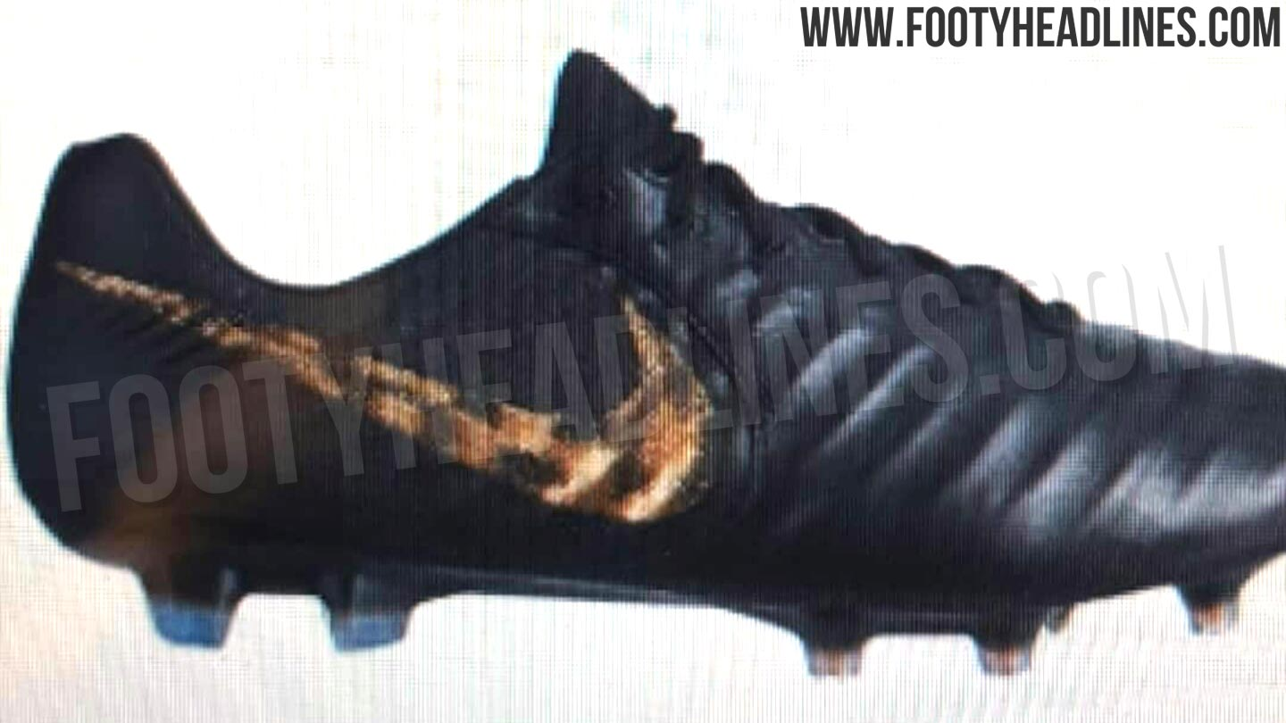 8effcbf0529b Black Lux' Nike Tiempo Legend VII 2019 Boots Leaked - Leaked Soccer ...