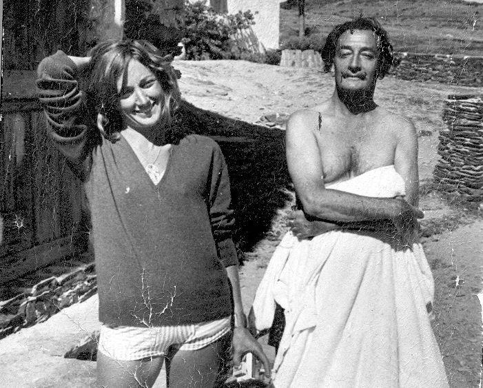Rosa regàs y Salvador Dalí, Cadaqués