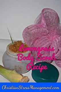 Lemongrass body scrub recipe