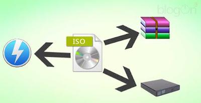 3 Cara Membuka file ISO