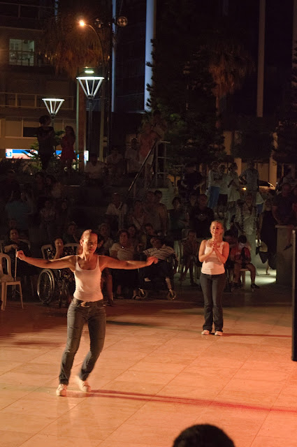 Some dances were more modern in Limassol, Cyprus during Kataklysmos - festival of flood.