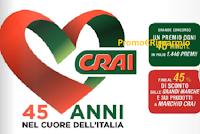 Logo ''Auguri CRAI'' : vinci subito 1.440 premi ! Scopri l'anticipazione