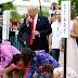 Trump encabeza búsqueda de huevos de Pascua en la Casa Blanca
