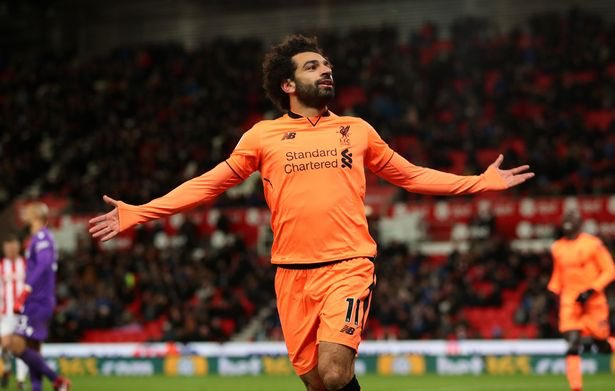 Mohamed Salah scores twice as Liverpool beat Stoke 3-0