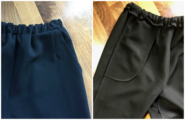 Diary of a Chain Stitcher: Mood Fabrics Wool Gabardine Marigold Trousers
