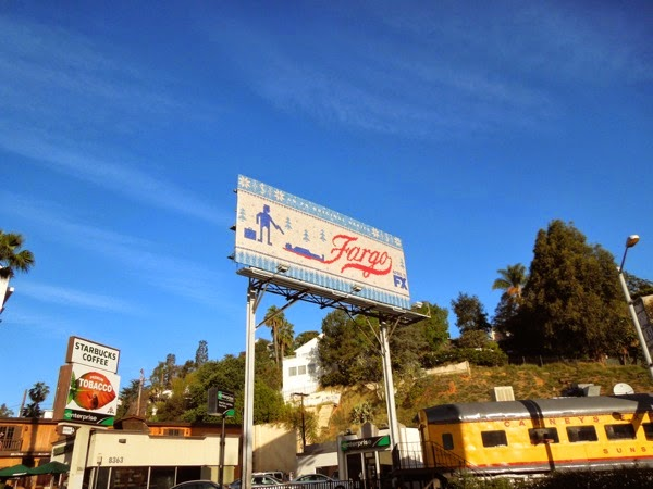 Fargo season 1 billboard Sunset Strip
