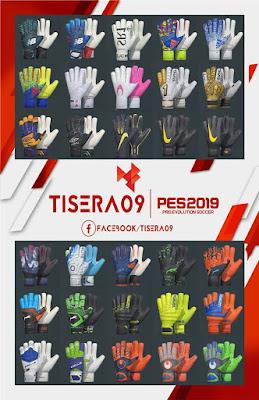 PES 2019 Glovepack v2 by Tisera09