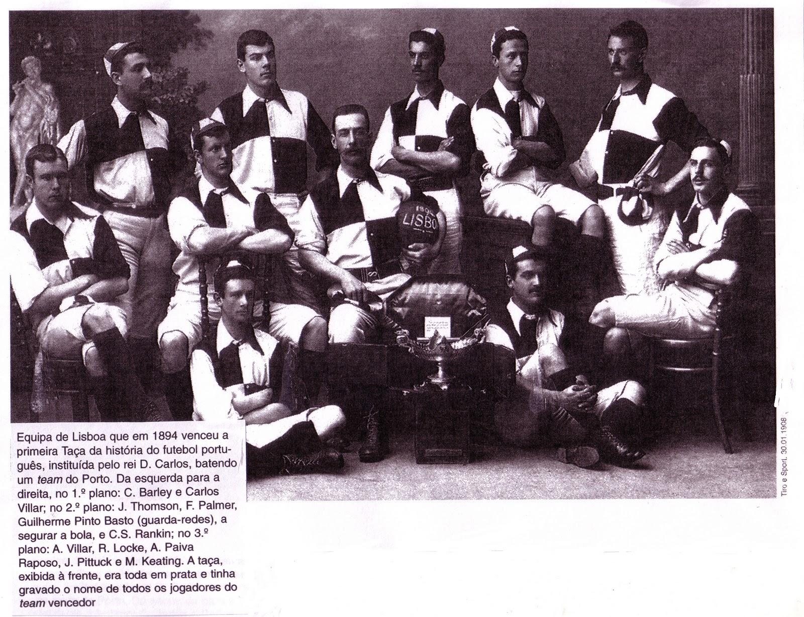 É mentira que fosse um jogo entre o Club Lisbonense e o Football-Club do  Porto. Não há nenhuma notícia em qualquer dos jornais que o relatou 35eaea0fbcf26