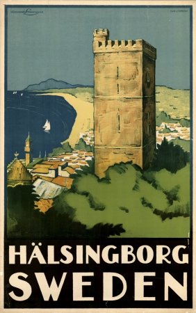 Vintage Travel Posters Sweden
