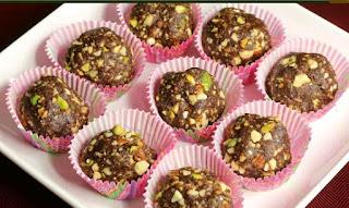 Date & Nut Ladoo Recipe