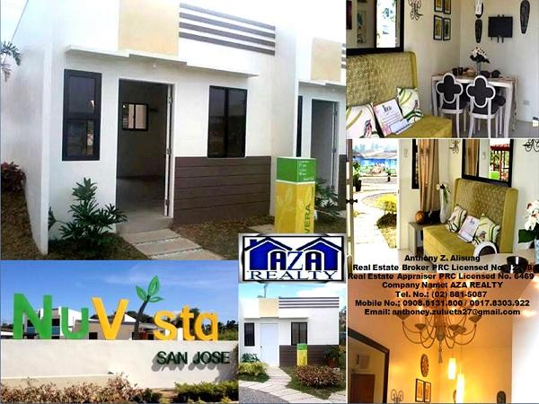 Vera Model Rowhouse Nuvista San Jose Subdivision