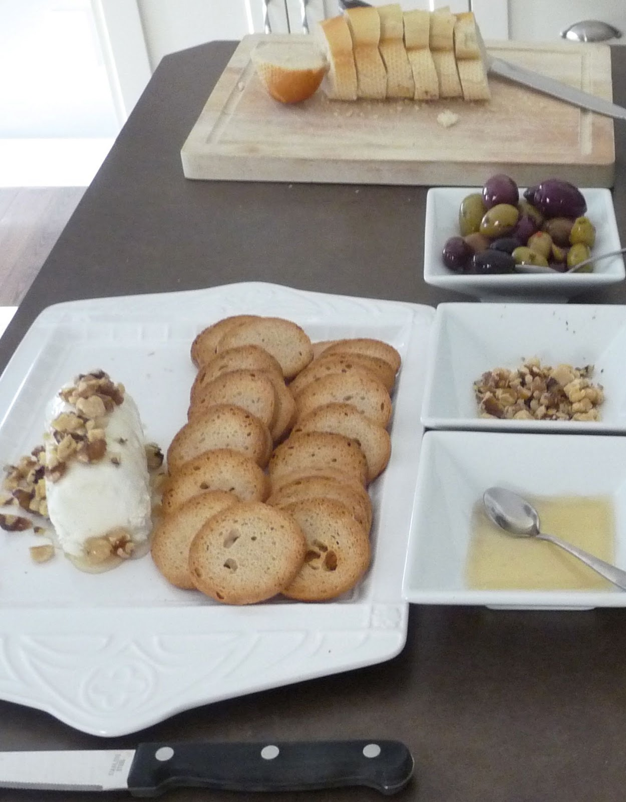 Goat Cheese, Honey & Walnuts, Oh My!