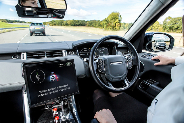 Image Attribute: Jaguar Land Rover Drives Forward Connected and Autonomous Vehicle Technologies / Source: Jaguar MENA/Flickr
