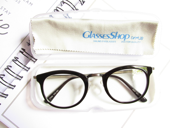 Review: GlassesShop - Preiswerte & qualitative Brillen Frederick Round frame