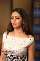 Actress Pooja Salvi Stills in White Dress at SIIMA Short Film Awards 2017 .COM 0154.JPG