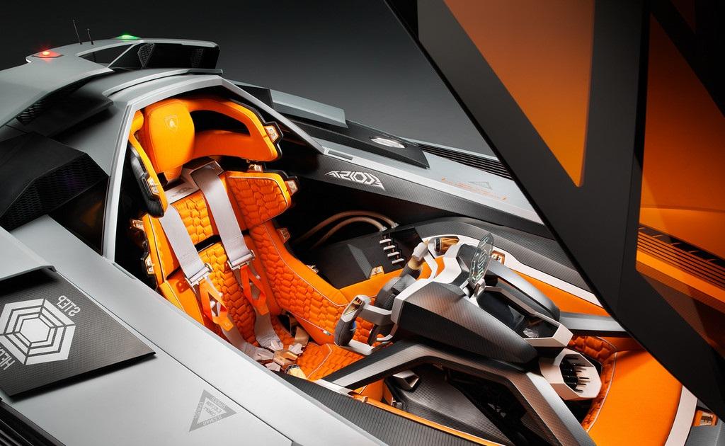 100 Lamborghini Egoista Interior Yasminroohi