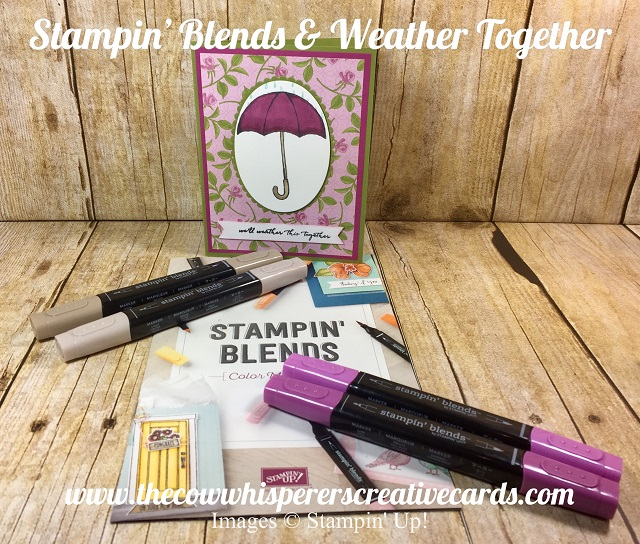 Stampin Blends, Weather Together, Card, Technique