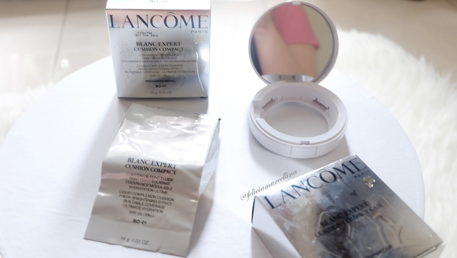 Feliciamarcellina Lancome Blanc Expert Compact Cushion Review