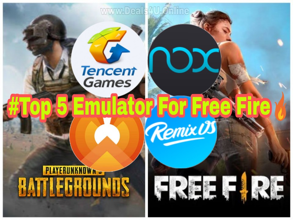 Top Emulators for PUBG | Top 5 Emulator For Freefire and