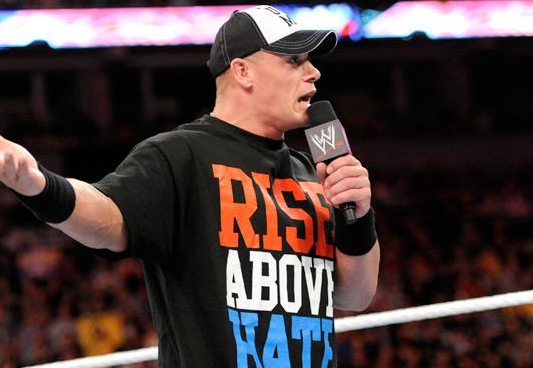 John Cena Is Accosted by Hysterical Eve » Wwe RawSuper ...