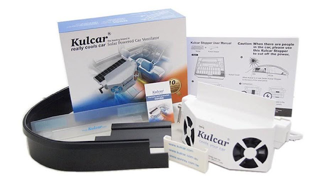 Cool Your Car With Kulcar Version 2, A Solar Powered Car Cooler Product Review