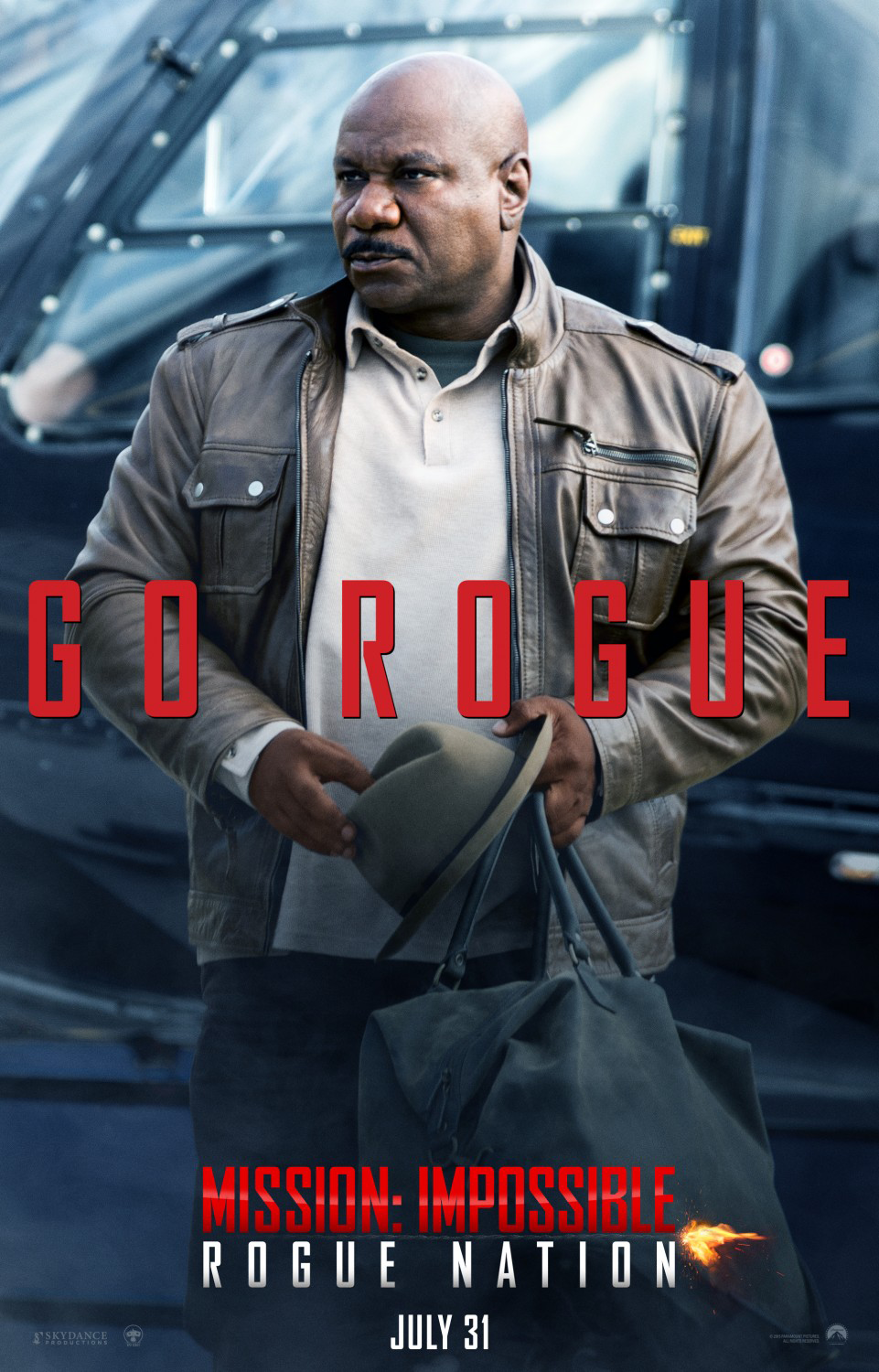 Mission Impossible: Rogue Nation Poster - Ving Rhames