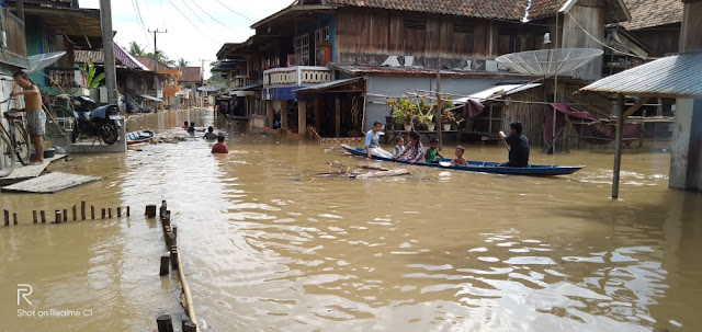 Desa dan Kelurahan di Muratara Teredam Banjir