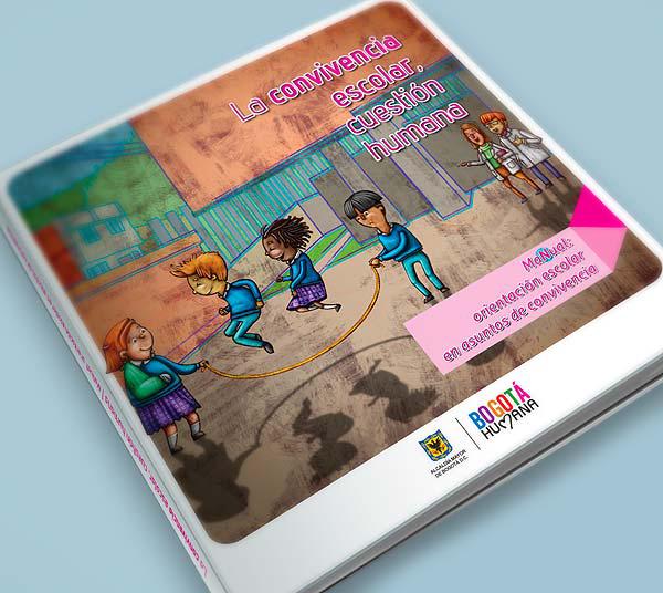 La convivencia escolar cuestión humana. Diseño de libro