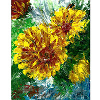 http://greenmonsterbrushstrokes.blogspot.com/p/yellow-flowers.html