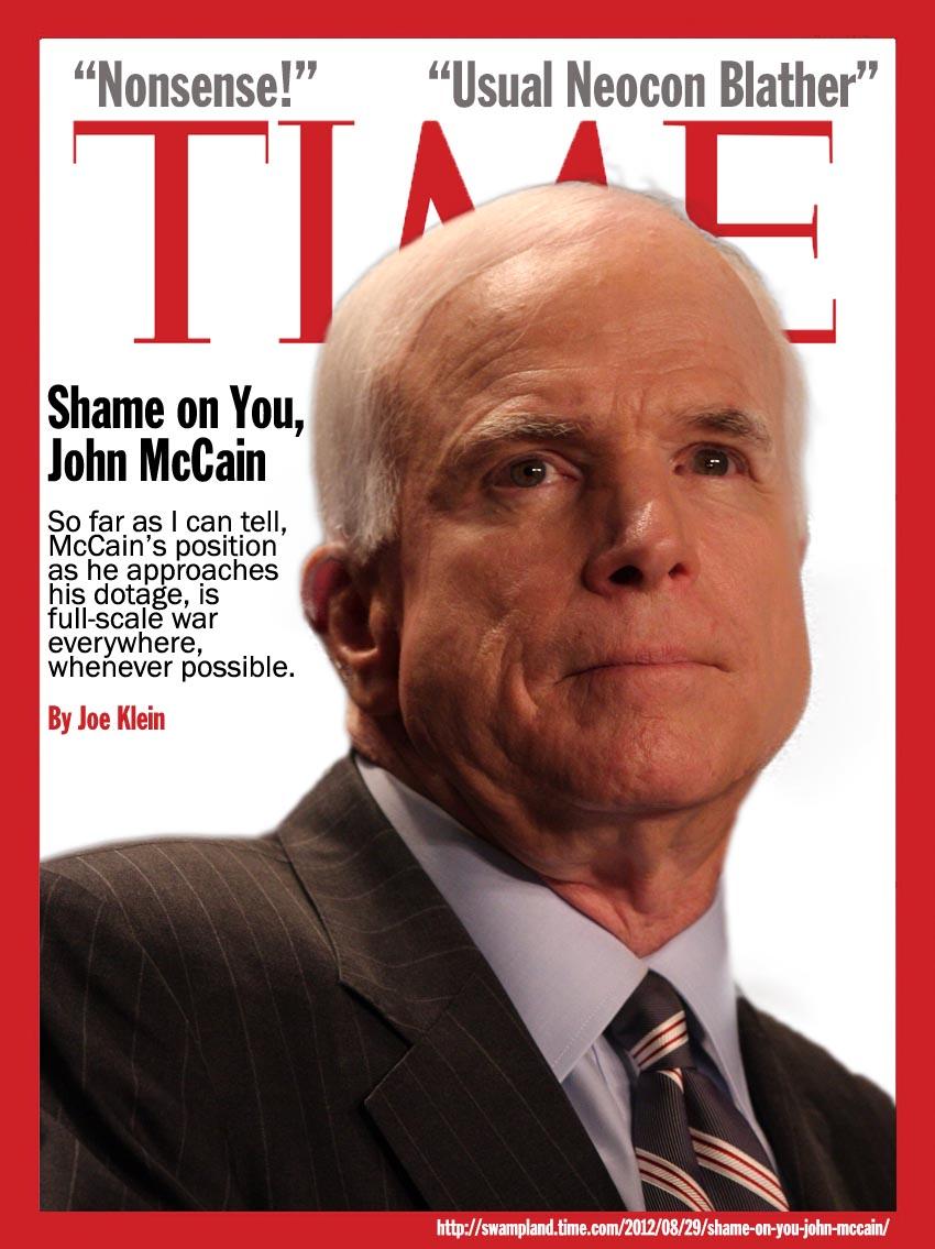 John McCain is a Dangerous Idiot (2/2)