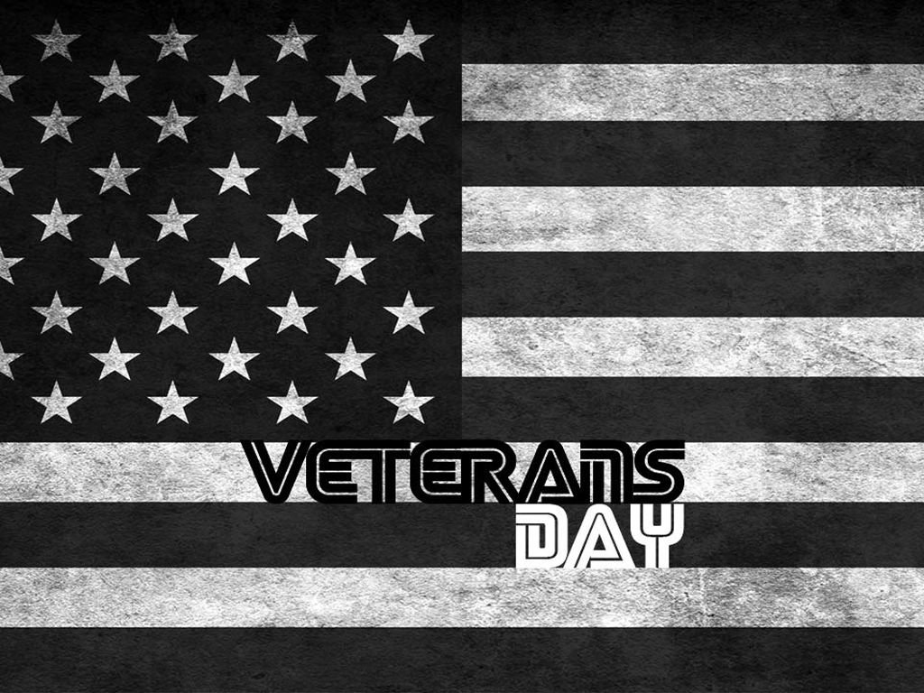 Free Veterans Day Point Background