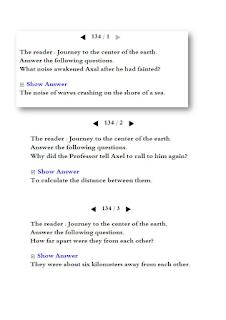 مراجعة ليلة الامتحان فى اللغة الانجليزية (قصة رحلة الى مركز الارض )للصف الثالث الاعدادى الترم الثانى .