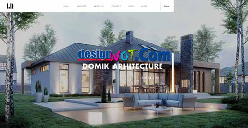 DOMIK Architecture Responsive HTML WordPress Template