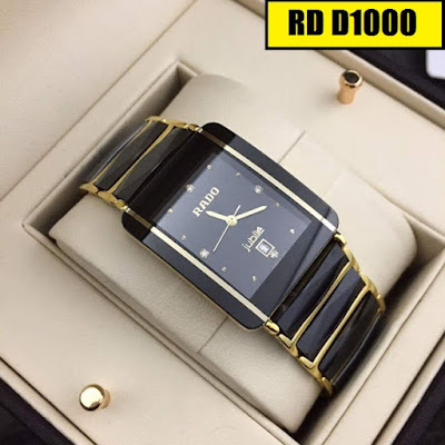Đồng hồ nam mặt vuông RD D1000