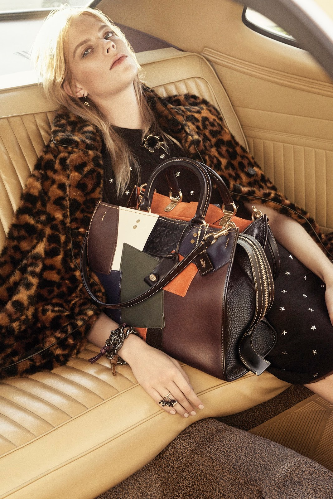 Coach 1941 Pre-Fall 2016 Campaign by Steven Meisel