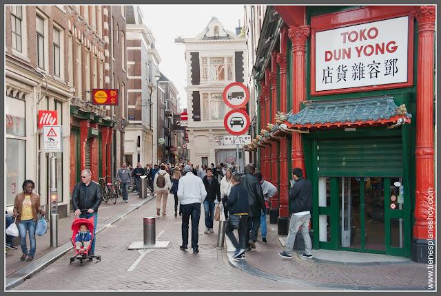 Barrio Chino Amsterdam (Países Bajos)