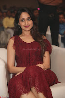 Pragya Jaiswal in Stunnign Deep neck Designer Maroon Dress at Nakshatram music launch ~ CelebesNext Celebrities Galleries 132.JPG