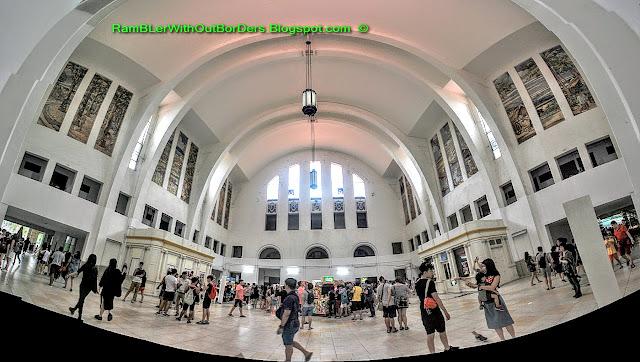 Main Hall, Tanjong Pagar Raiway Station, Singapore