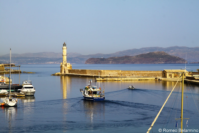 Harbor and Lighthouse Things to Do in Chania Crete