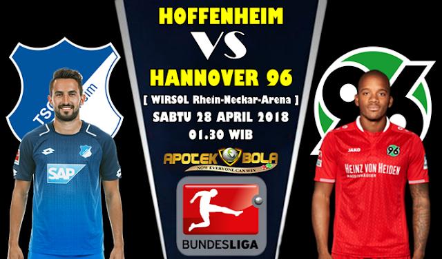 Prediksi Hoffenheim vs Hannover 96 28 April 2018
