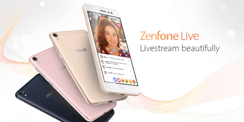 asus zenfone live zb501kl for beautified live videos goes official. Black Bedroom Furniture Sets. Home Design Ideas