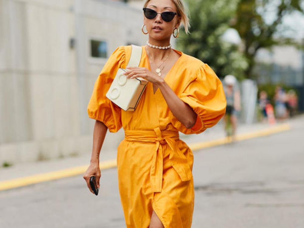 Gelb und Orange