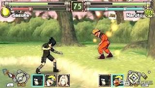 Game Naruto Ultimate Ninja Heroes PPSSPP