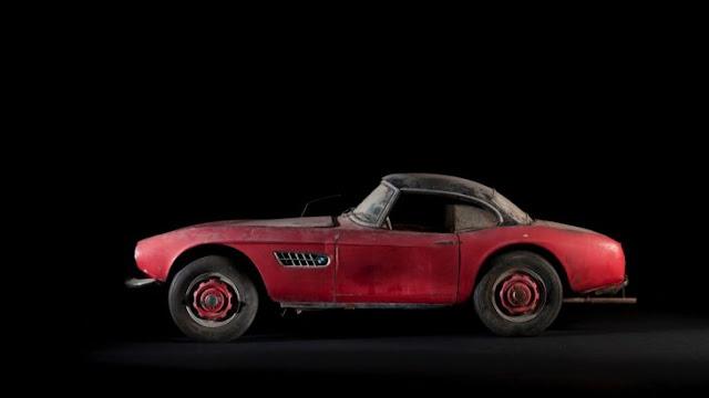Restauran el BMW 507 que perteneció a Elvis Presley
