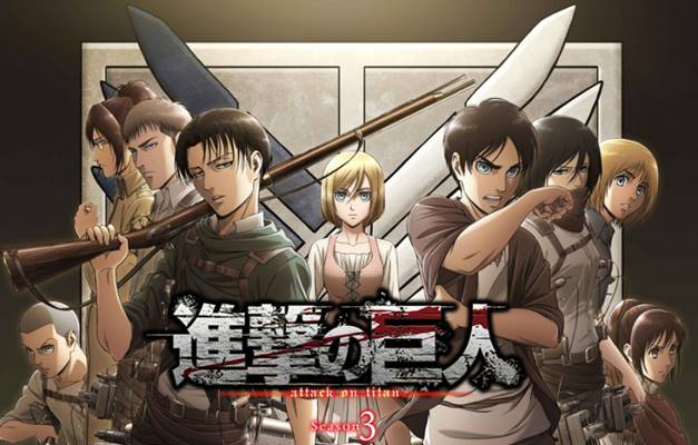 Sinopsis Anime Shingeki no Kyojin (Attack on Titan) Season 3 dan Profil Karakternya