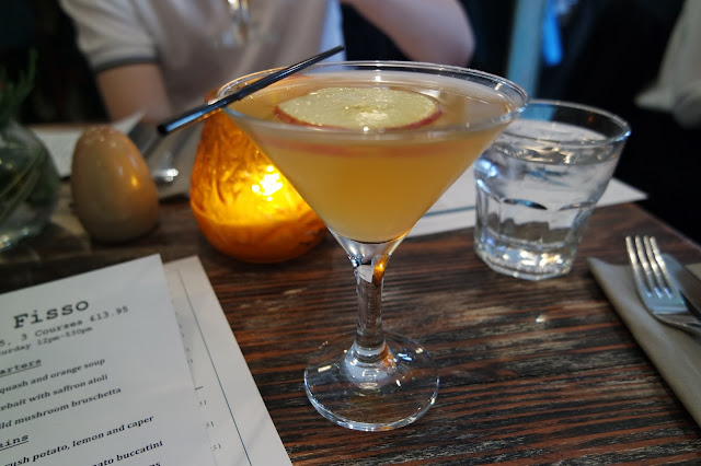 Cena Yarm Restaurant Review Toffee Apple Martini