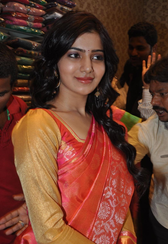 samantha gorgeous saree photo gallery | actress images - heroines