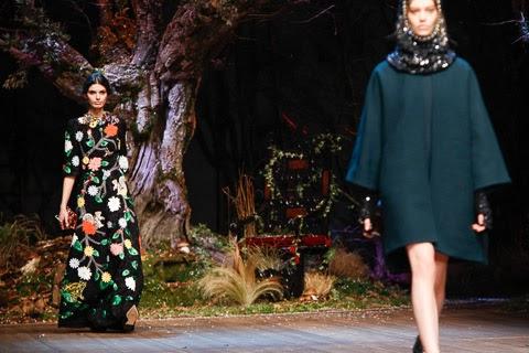 Dolce e Gabbana FW 2014 (photo: Alessandro Garofalo/indigitalimages.com)