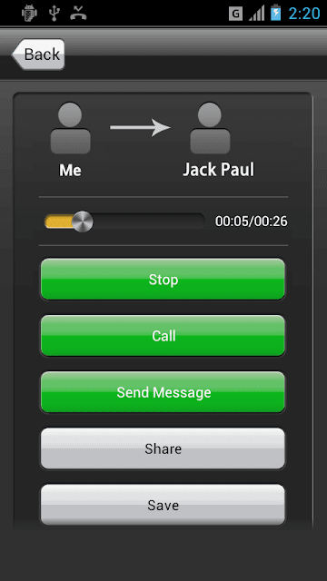 Automatic call recorder by lovekara available on google playstore